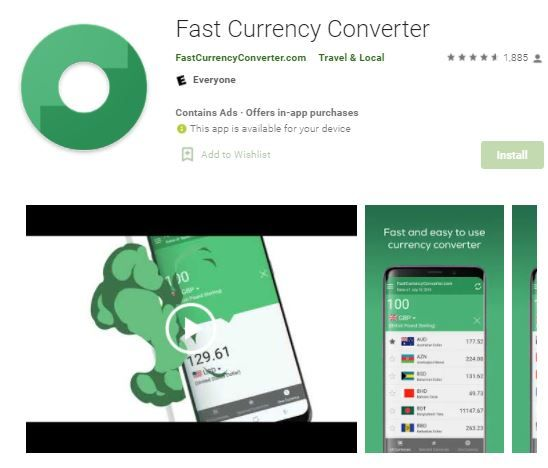 Fast Currency Converter 514c7