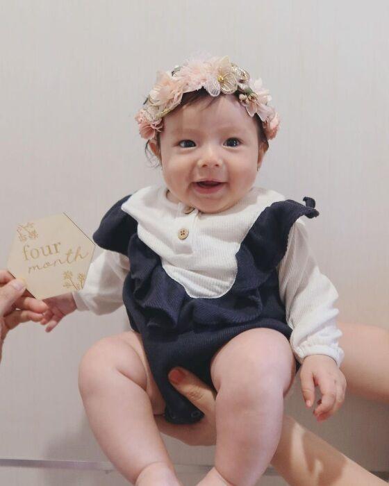 Baby Chole Ulang Bulan Ke 4 147a4