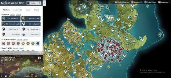 Map Genshin Impact 9157e