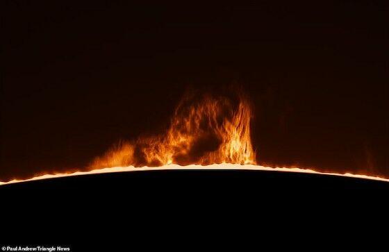 Foto Matahari Terbit Yang Indah B3768