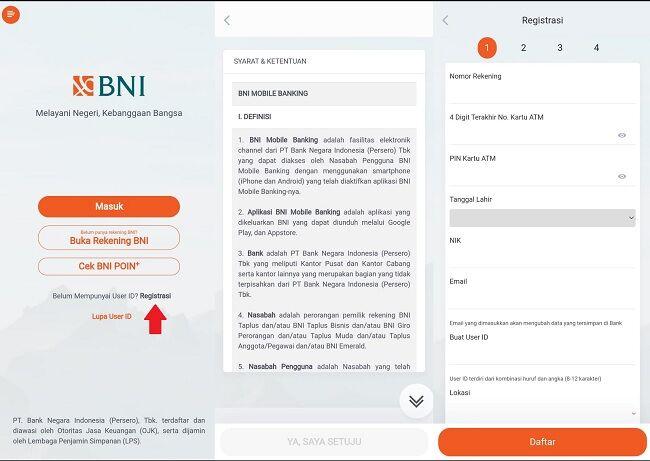 Cara Daftar M Banking BNI 2 40780