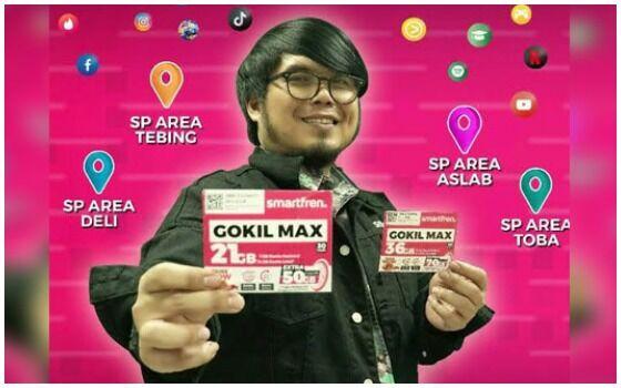 Paket Internet Smartfren Gokil Max F6069