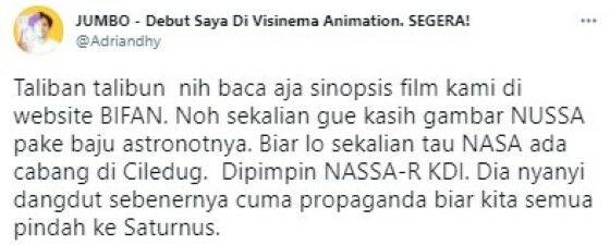 Reaksi Cuitan Eko Kuntadhi E8736