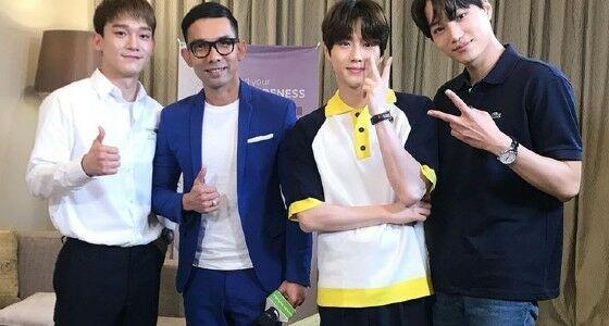 Indra Herlambang Dengan Member EXO 7506a