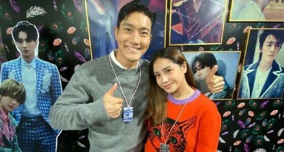 Nagita Slavina Dengan Choi Siwon Super Junior 9906a