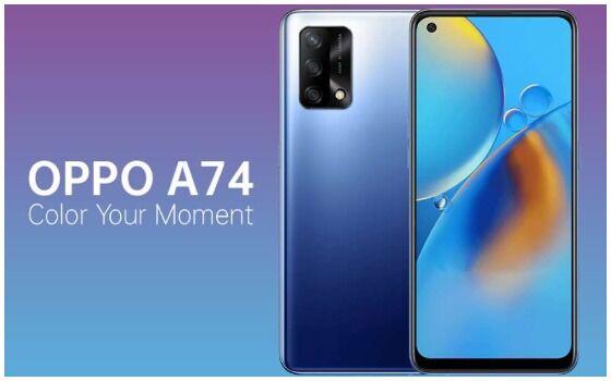 HP Oppo Untuk Gaming Oppo A74 3343e