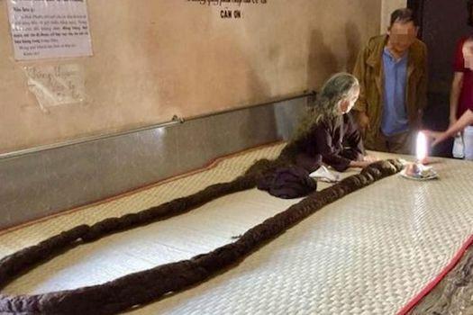Pemilik Rambut Terpanjang Di Dunia 5945f