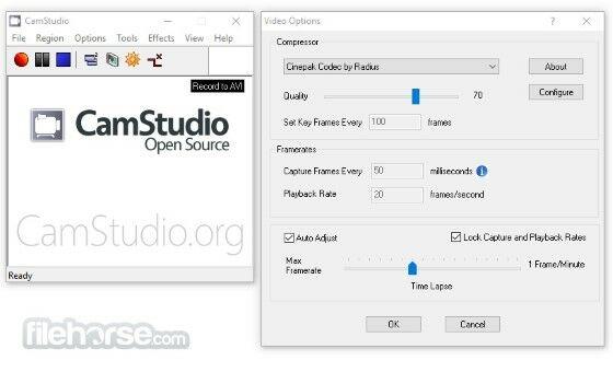 Software Screen Recorder Custom 731c8