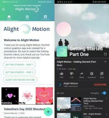 Download Aplikasi Alight Motion Pro Apk Custom 2dace