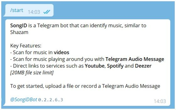 Rekomendasi Bot Telegram Berguna Song Id Bot 70211