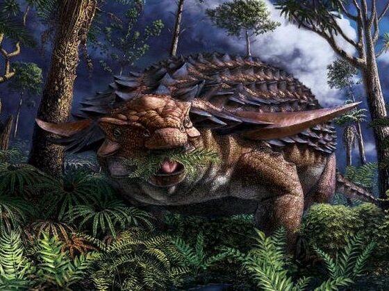 Ilustrasi Nodosaurus B3b15