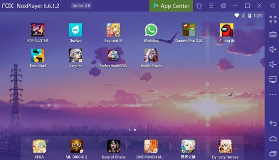 Emulator Android 3 40b3a