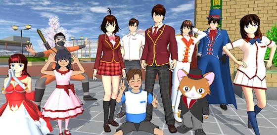 Sarah Viloid Sakura School Simulator E6ec7