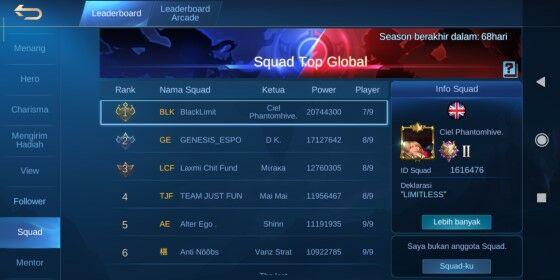 Nama Squad Dan Artinya 7176d