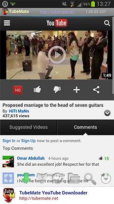 Review Tubemate Youtube Downloader