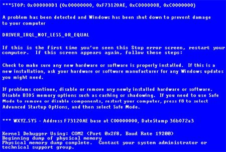 Tips Mencegah Blue Screen Pada Windows