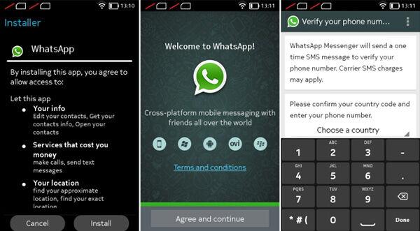 Cara Download Dan Install Whatsapp Di Nokia X 2