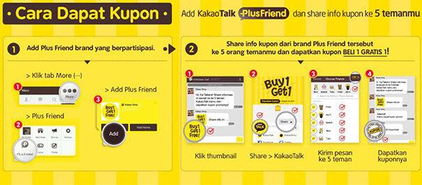 Kakaotalk Plus Friend Buy 1 Get 1 Free Event 1