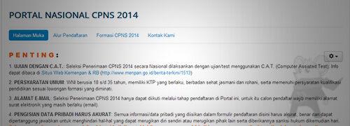 Cpns 20141