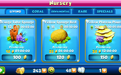 Review Game Nemo%E2%80%99s Reef For Android 2