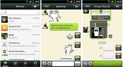 3 Aplikasi Gratis Alternatif Whatsapp Wechat