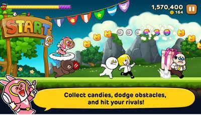 Game Android Terbaru Edisi Februari 2014 Line Party Run 1
