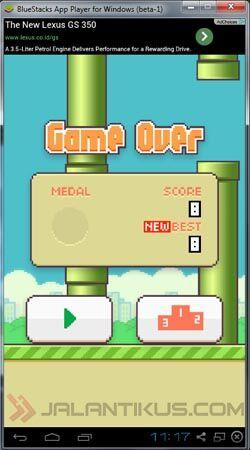 Sekarang Flappy Bird Sudah Bisa Dimainkan Di Pc 7