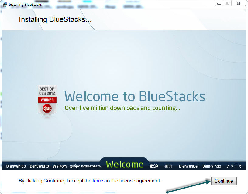 Install Bluestacks 1