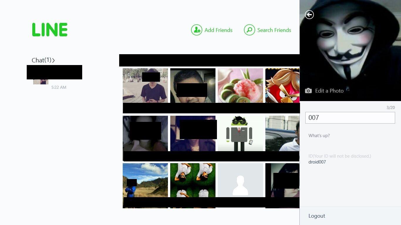 cara download sticker line di windows phone