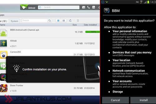Cara Menginstall File APK Di Android 5