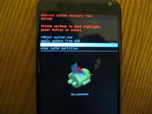 Memperbaiki Android Tidak Mau Nyala 4