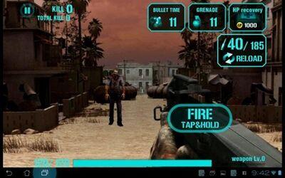 3 Game Zombie Terbaik Di Android GunZombie Hellgate