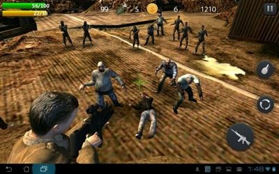 3 Game Zombie Terbaik Di Android Zombie Hell 1