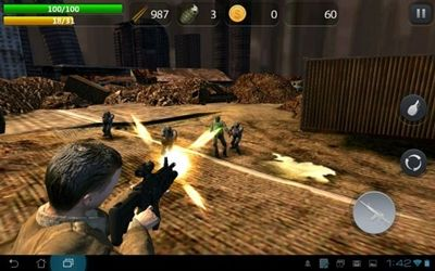 3 Game Zombie Terbaik Di Android Zombie Hell