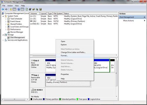 Cara Format Flashdisk Yang Rusak 3