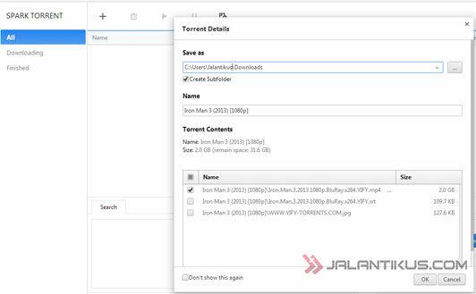 Spark Browser Download Video YouTube Dan Torrent Semakin Mudah 2