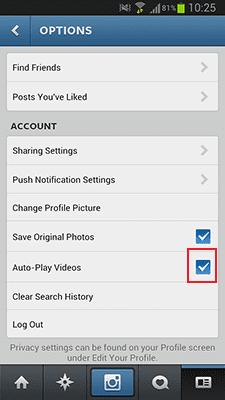 Cara Untuk Mematikan Auto Play Video Di Instagram 3