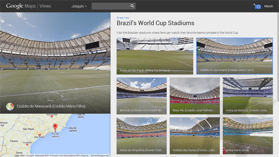 Piala Dunia Street View