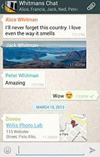 Whatsapp User Interface Terbaru