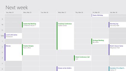 Windows Update Calendar
