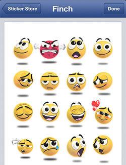 Facebook Messenger Sticker