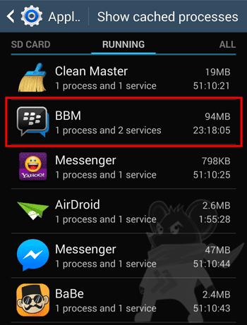 Pemakan Ram Android1