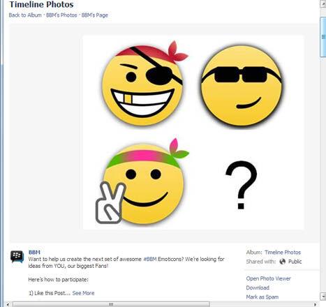 Desain BBM Emoticon Terbaru Sesuai Keinginan Kamu