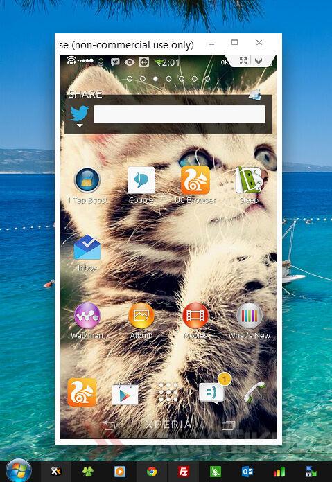 Cara Mengendalikan Smartphone Android Dari Komputer 6