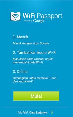 Google Berikan Akses Internet Murah Di Indonesia Dengan WiFi Passport 1