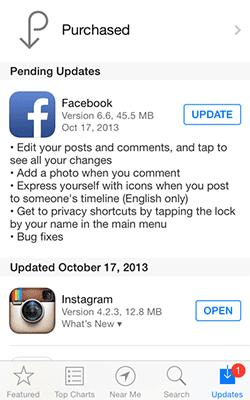 Update Facebook For IOS Dengan Fitur Edit Comment Dan Photo Comment