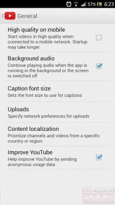 YouTube Untuk Android Siap Hadirkan Fitur Terbaru Background Audio