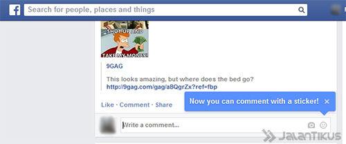 Comment Di Facebook Sekarang Bisa Pakai Sticker 1