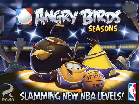 Update Terbaru Angry Bird Season Versi Basket NBA