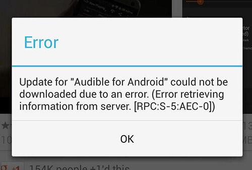 25 penyebab dan Cara mengatasi masalah error google play store di android